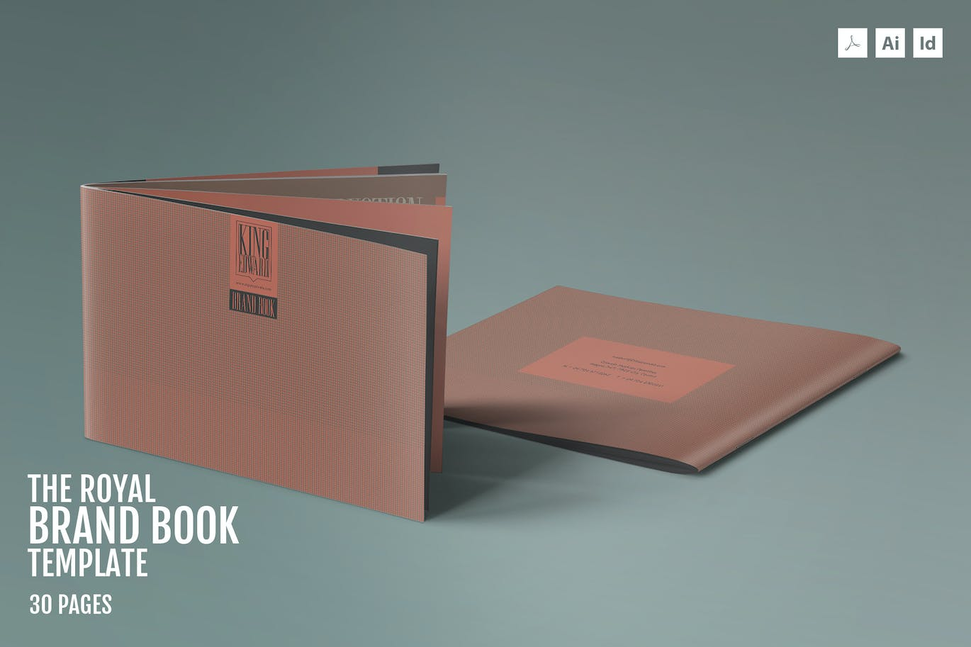 brandbook template 001 by id_vision_studio on envato elements