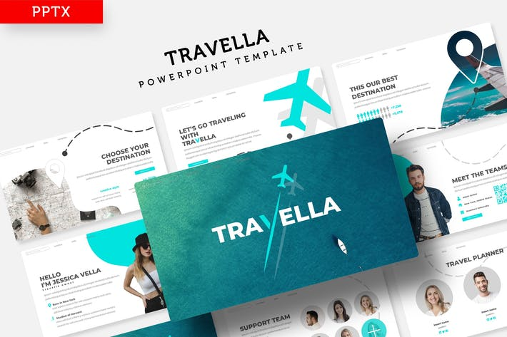 Thumbnail for Travella - Powerpoint Template
