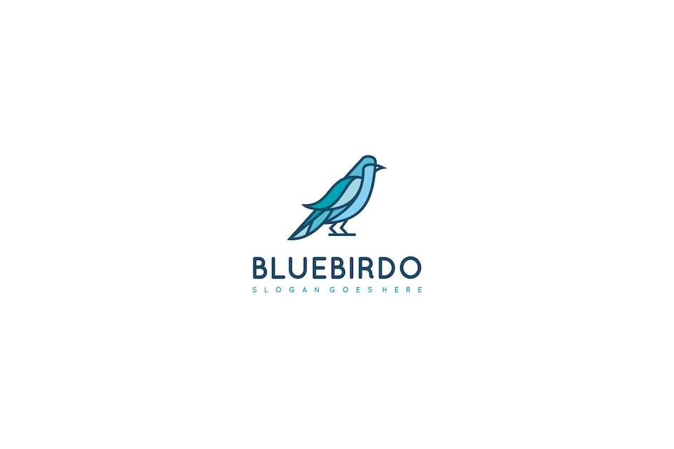 Download Blue Bird Logo by 3ab2ou