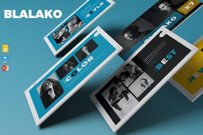 Thumbnail for Blalako - Presentation Template