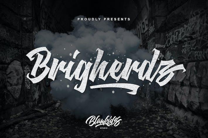 Brigherdz Urban Script Negro