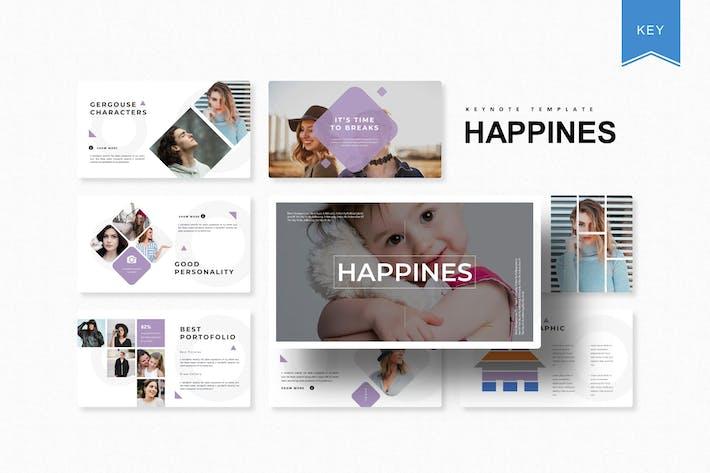 Thumbnail for Happines | Шаблон Keynote