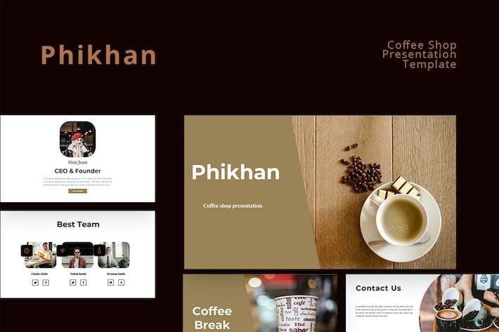 Phikhan - Кофейня Google Презентация слайдов