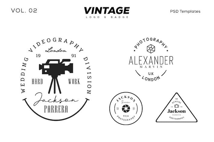 Thumbnail for Vintage Logo & Badge Vol. 2