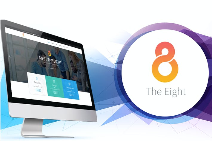 Thumbnail for The8 Corporate Business HTML Template