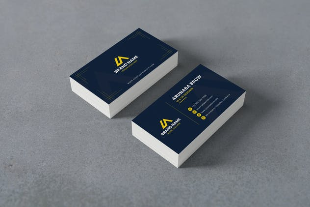 Business Card Visit Template