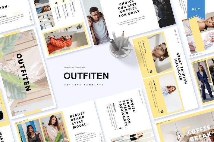 Outfiten | Шаблон Keynote