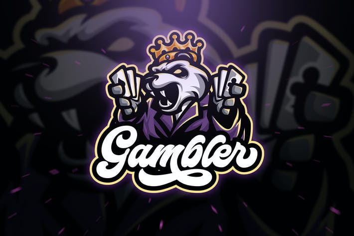Thumbnail for Gambler Panda Sport and Esport Logo