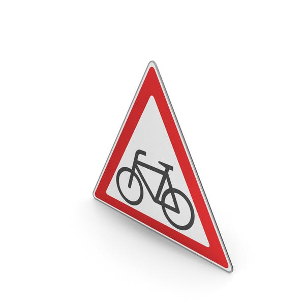 Road Sign Watch For Cyclists