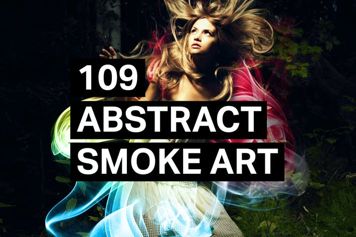 Thumbnail for 109 Abstract Smoke Art