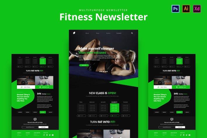 Thumbnail for Fitness Newsletter