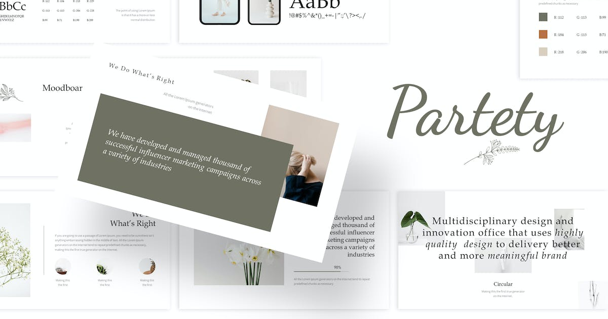 Download Partety - Powerpoint Template by Goodraws