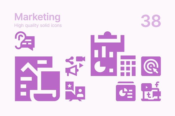 Thumbnail for Marketing-Icons
