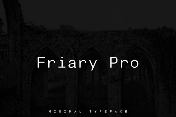 Cover Image For Friary Pro Typeface + Web Fonts
