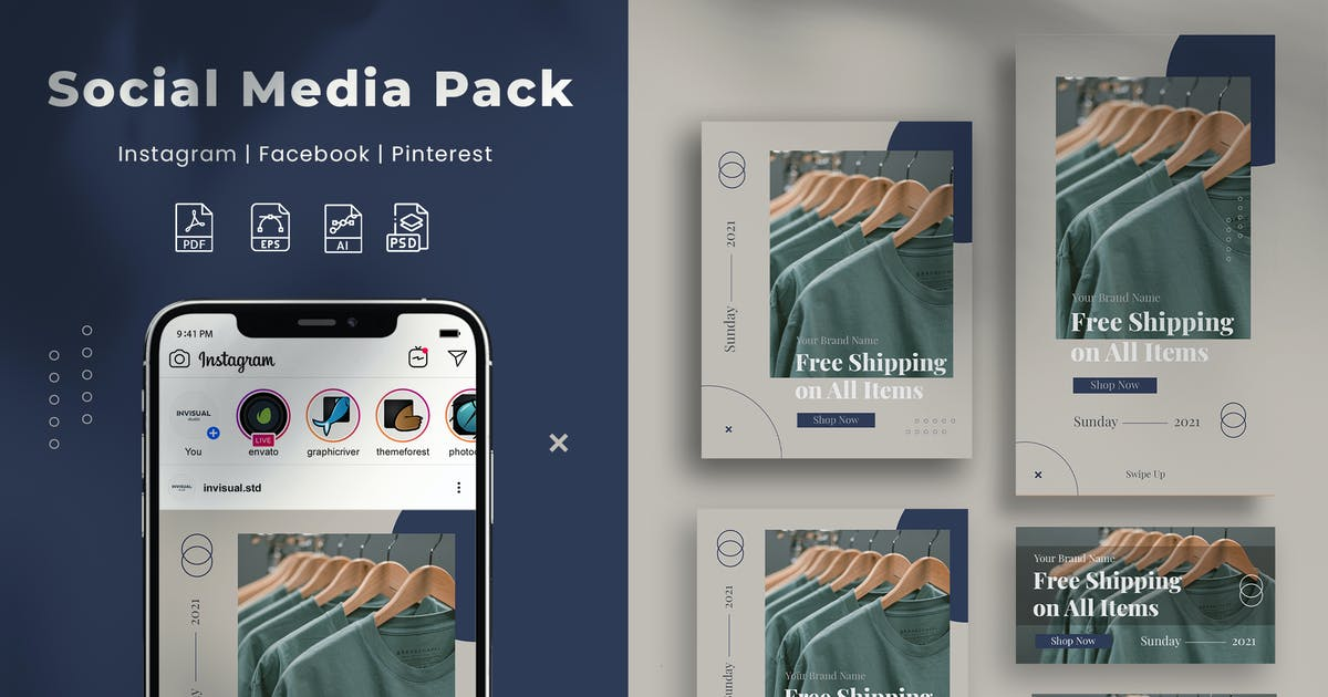 Download Social Media Pack by invisualstudio