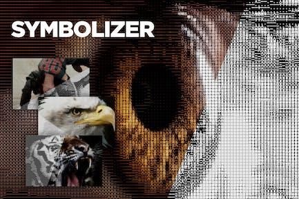 Symbolizer + Symbols Checker CS4+ Photoshop Script