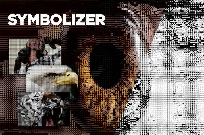Символизатор + Символы проверки CS4+ Сценарий Photoshop