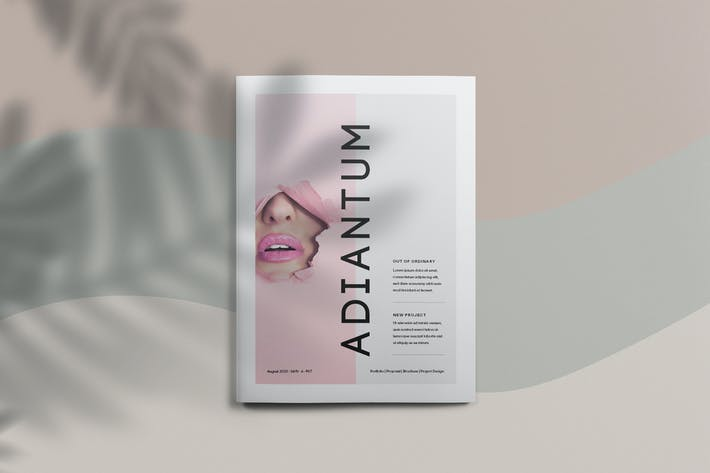 Thumbnail for Adiantum - Magazine Template