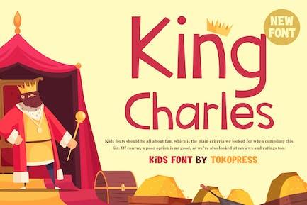 King Charles - Kids Font