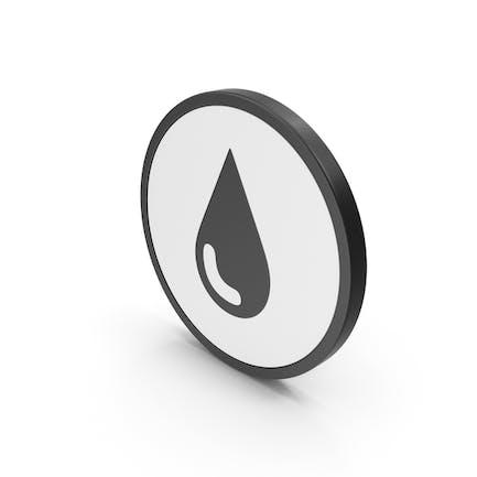 Wassertropfen-Symbol
