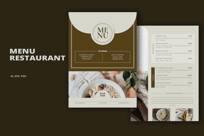 Thumbnail for Menü Restaurant