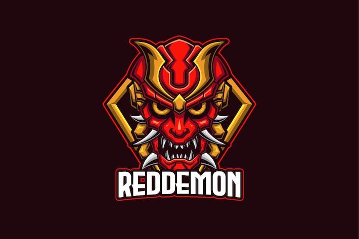 Thumbnail for Red Demon E-sports Logo Template