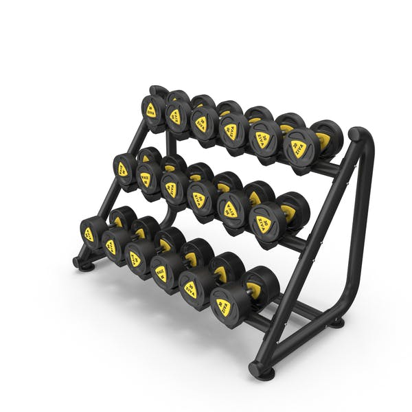 Thumbnail for Dumbbell Rack