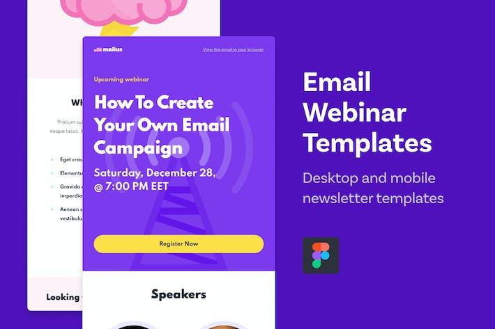 Email Webinar Templates