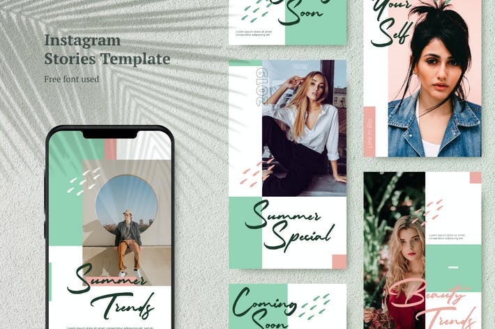 Thumbnail for AWR Elegant Instagram Stories Template 1