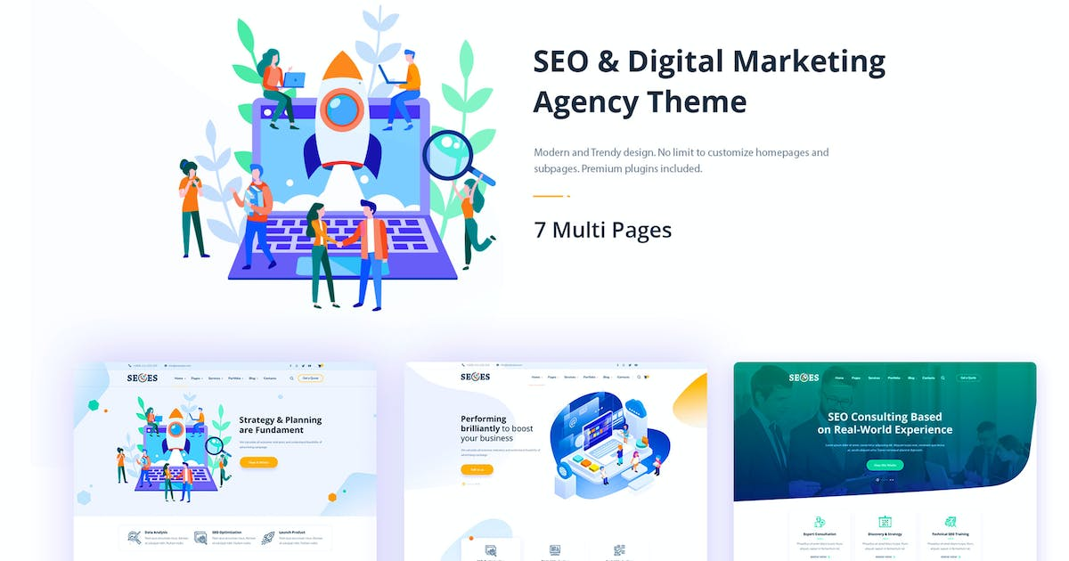 SEOes by RB-Themes on Envato Elements