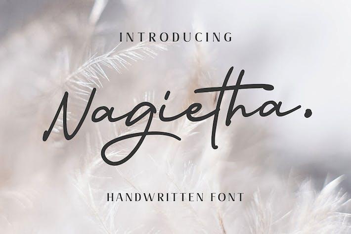 Thumbnail for Nagietha - Fuente manuscrita
