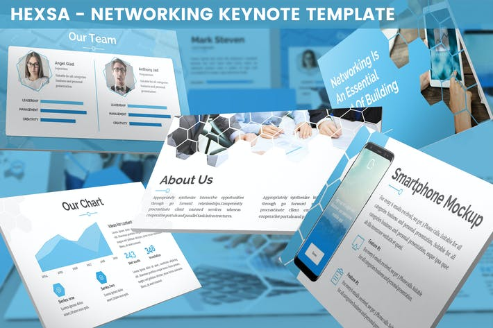 Cover Image For Hexsa - Networking Keynote Template
