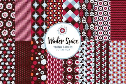 Winter Festive Spice Patterns