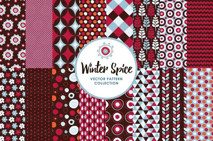 Thumbnail for Winter Festive Spice Patterns