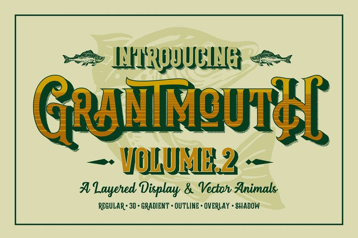 Thumbnail for Grantmouth Vol.2 Typeface