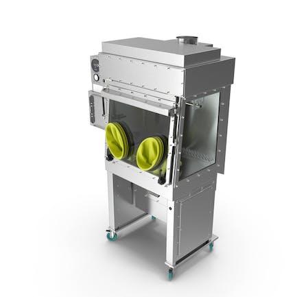 Laminar Flow Glovebox Sterile Isolator
