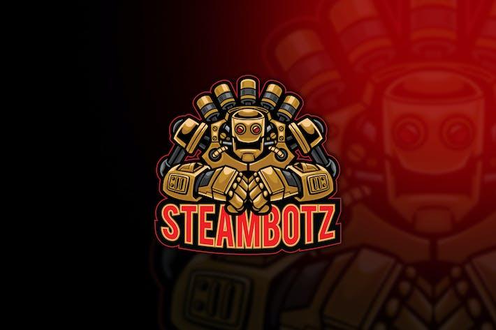 Thumbnail for Steambotz Esport Logo Template
