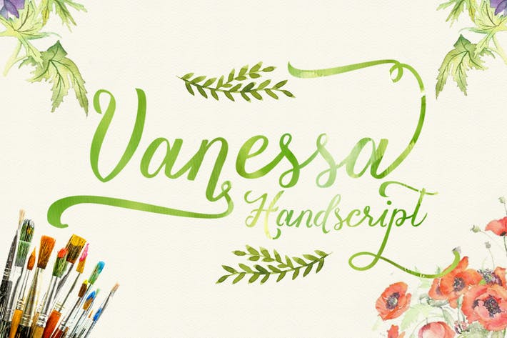 Thumbnail for Vanessa handscript
