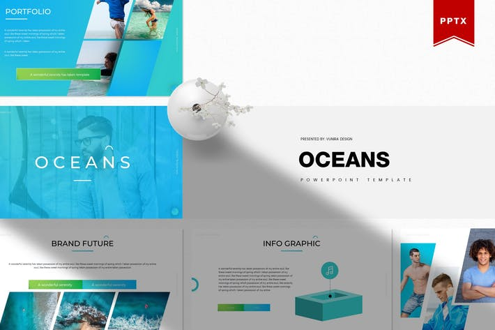 Thumbnail for Oceans | Powerpoint Template