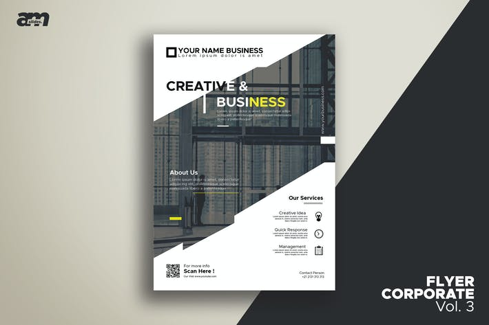 Cover Image For Flyer Corporate Vol.3