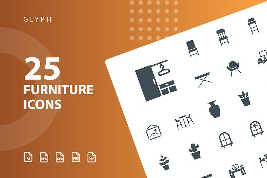 Furniture Glyph Part 3