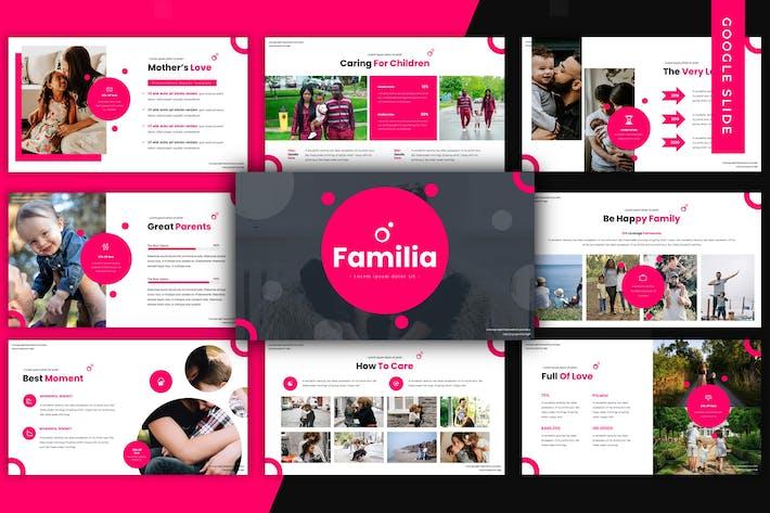 Thumbnail for Familia - Google Slide Template