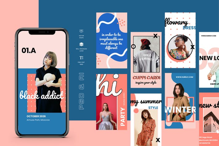 Thumbnail for Hurray - Instagram Stories Template