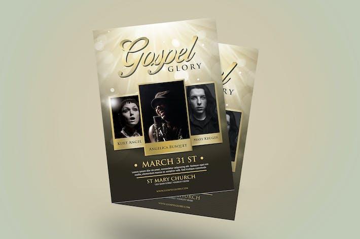 Cover Image For Gospel Flyer
