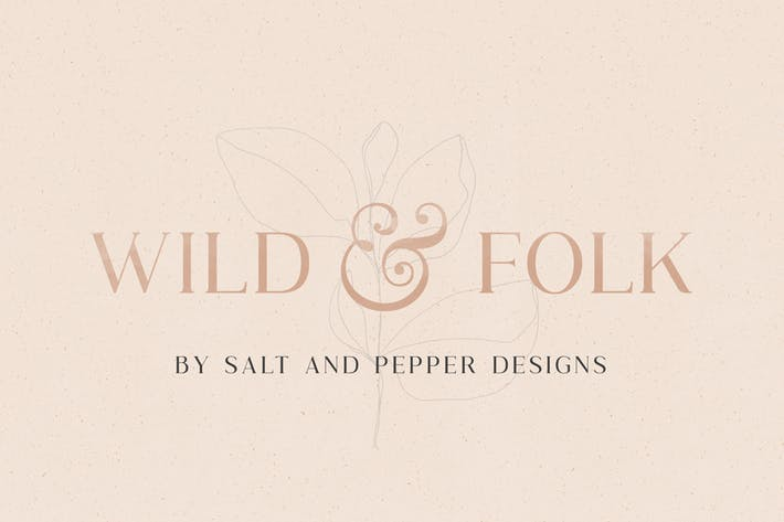 Thumbnail for Wild & Folk Font