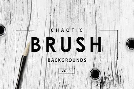 Chaotische PinselHintergründe Vol.1