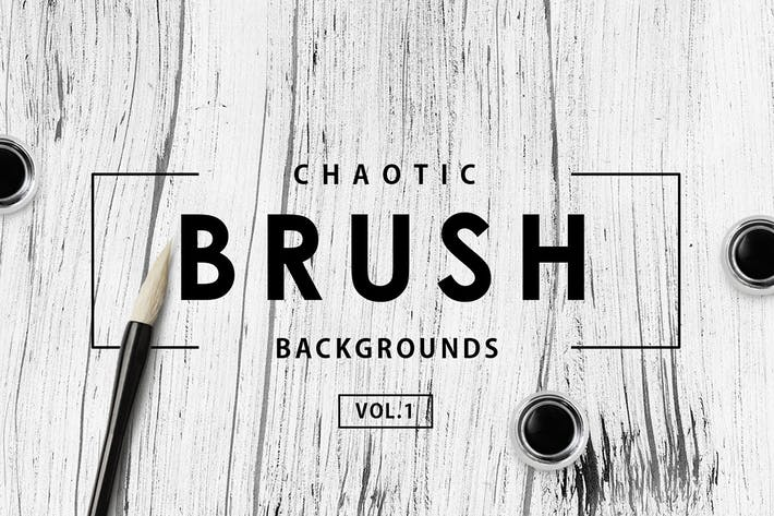 Thumbnail for Chaotic Brush Backgrounds Vol.1
