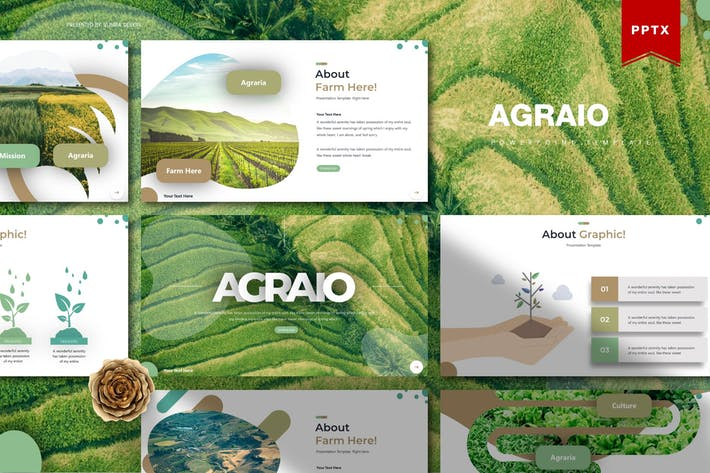 Thumbnail for Agraio | Powerpoint Template