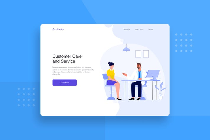 Thumbnail for Patient consult with a doctor landing page header