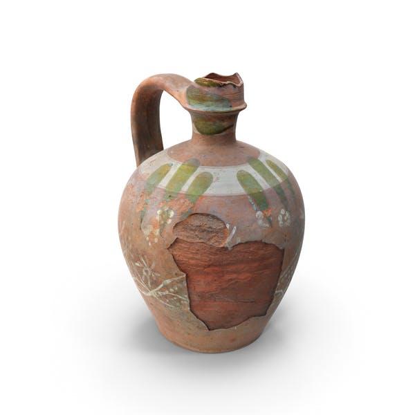 Сломанный глиняный горшок